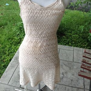 Anthropologie lace dress.
